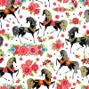 2014 Horses Seamless Patterns vector 01