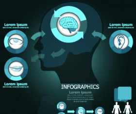 Infographic medical creative vector 03