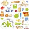 Sale stickers creative vector 03