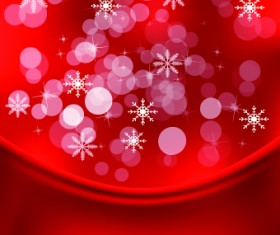 Shiny 2014 Christmas Snowflake background Vector 01