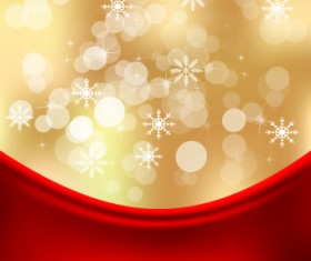 Shiny 2014 Christmas Snowflake background Vector 02