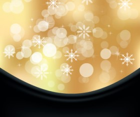 Shiny 2014 Christmas Snowflake background Vector 03