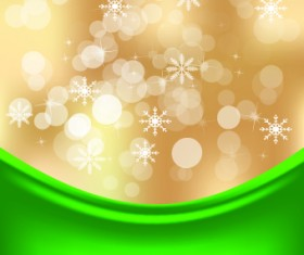 Shiny 2014 Christmas Snowflake background Vector 05