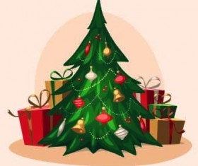 2014 Christmas vintage objects vector 05