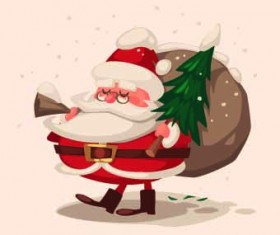 2014 Christmas vintage objects vector 07
