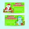 2014 Merry Christmas vector cards 02