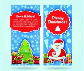 2014 Merry Christmas vector cards 05