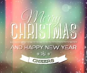 2014 Merry Christmas frames background vector 02