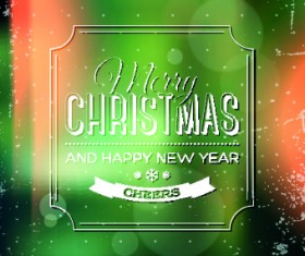 2014 Merry Christmas frames background vector 03