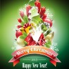 2014 Xmas poster backgrounds vector 02