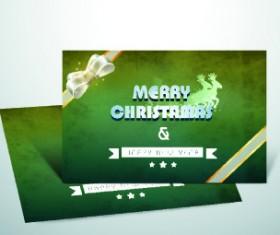 2014 cards christmas design vector 03