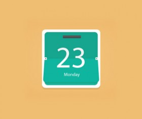 Creative Calendar psd template