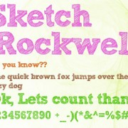 Link toCartoon crayon fonts