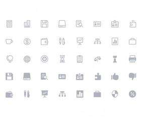 160 Kind Simple Line Icons