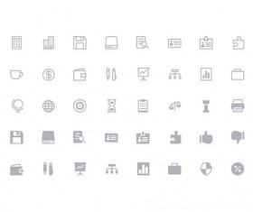 160 Kind Simple Line Icons