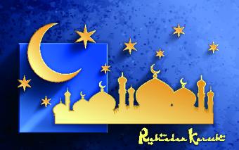 Arabic Islamic elements background graphics 04