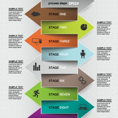 Business Infographic creative design 619 - Vector Business free ...