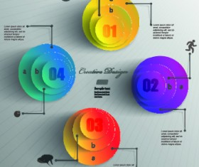 Business Infographic creative design 663