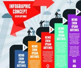 Business Infographic creative design 666