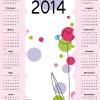 Calendar 2014 vector huge collection 61