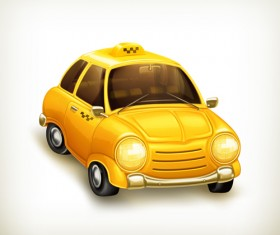 Cartoon Car Cute vector graphics set 02