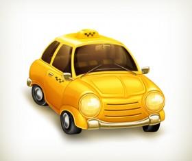 Cartoon Car Cute vector graphics set 02