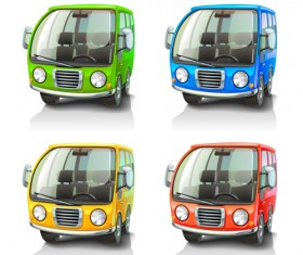 Cartoon Car Cute vector graphics set 06