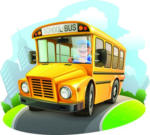 Cartoon Car Cute vector graphics set 09