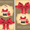 2014 Year Christmas Labels vector 03
