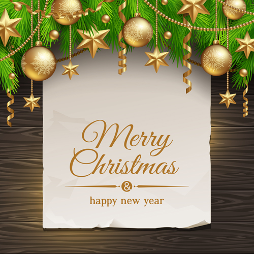 Christmas Message text background vector 01 free download