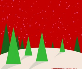 2014 Christmas paper cut backgrounds vector 02