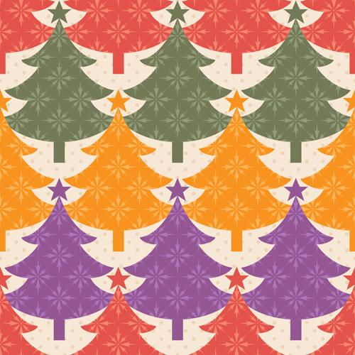 Christmas Patterns Vector Set 02 Vector Christmas