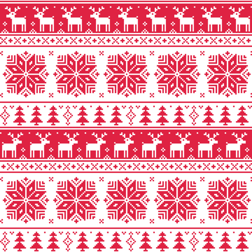 Christmas Patterns Vector Set 40 Free Download Amazing Christmas Patterns