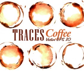 Coffee drawn elements vector 02