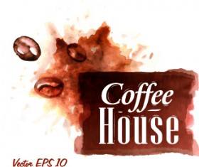 Coffee drawn elements vector 06