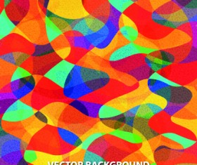 Abstract Multicolor background vector 02