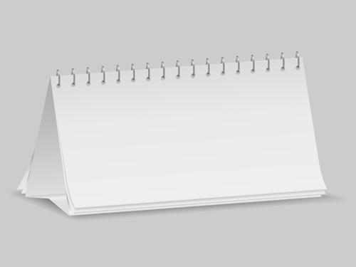 2014 Desk calendar design template vector 01 - Vector Calendar ...