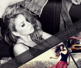 Facebook Timeline Covers Psd material 01