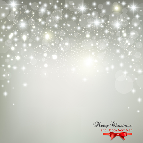 Halation Merry Christmas vector backgrounds 01