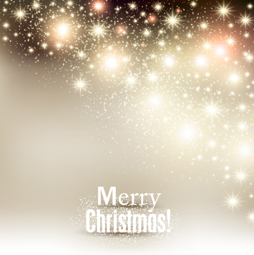 Halation Merry Christmas Vector Backgrounds 02 Vector