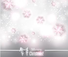 Halation Merry Christmas vector backgrounds 04