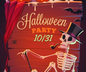 Halloween creative background vector 03