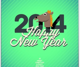 Vintage 2014 New Year backgrounds