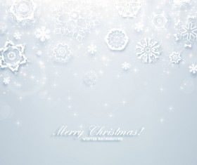 Christmas Winter Backgrounds Vector 03