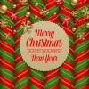 Christmas with 2014 New Year Creative background set 07