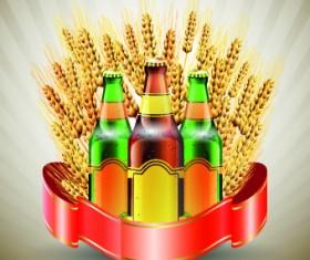 Creative beer poster vector set 01