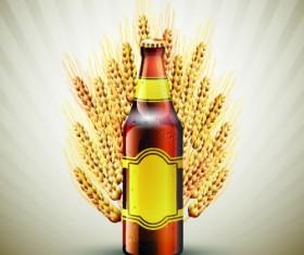 Creative beer poster vector set 02