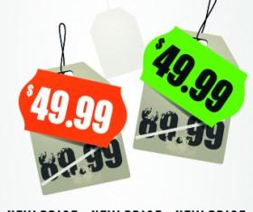 Big sale price tag creative vector 01