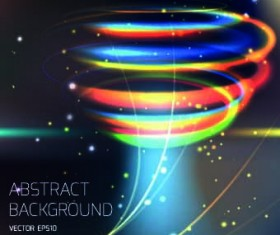 Abstract tornado background vector 02