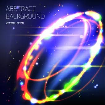 Abstract tornado background vector 03